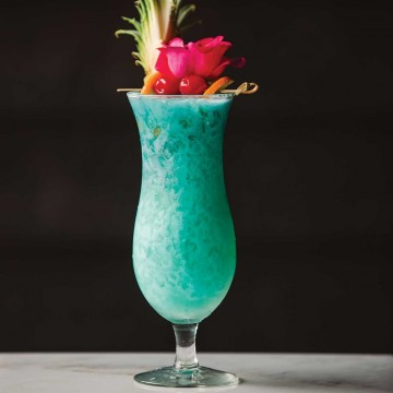 Blue Hawaiian Mr Boston Drinks