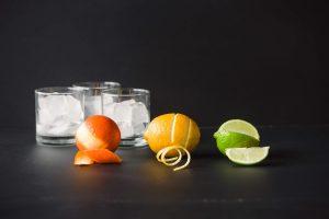 fruit garnishes